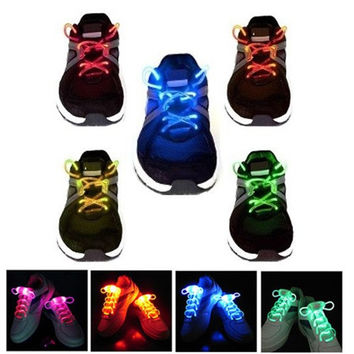 GlowLace LED Waterproof Light-Up Shoelaces - 3 Modes (On, Strobe & Flashing)