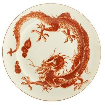 Mottahedeh Red Dragon Dinnerware Collection