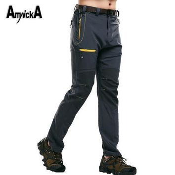 Amynicka Hiking Pants Men Waterproof Breathable Outdoor Pants For Camping Climbing Trekking Fishing Male Trousers Xl 5xl A88