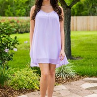Come My Way Dress - Lavender - NEW ARRIVALS