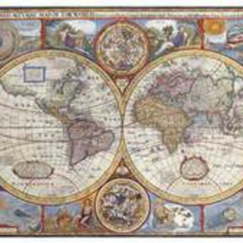 Antique Map - New Map Of The World, 1626