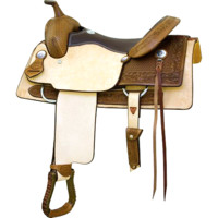 "Billy Cook 16"" Texas T Penner Cutter Saddle"