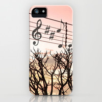 Melody iPhone & iPod Case by Louise Machado