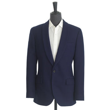 J.Crew Mens Ludlow Shawl-Collar Dinner Jacket In Fiore Cotton