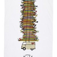 Herschel Supply Co. 'Rad Cars with Rad Surfboards Collection' Beach Towel