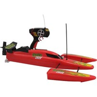REMOTE CONTROL Ignite Racing 99 Speed Boat - Red or black color sent at random