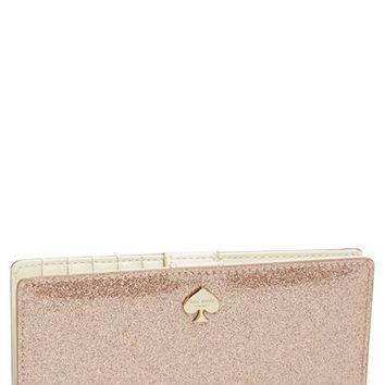 kate spade new york 'glitter bug - stacy' continental wallet