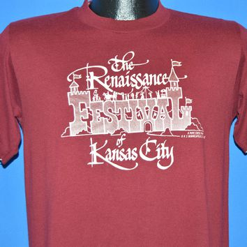 80s The Renaissance Festival Kansas City t-shirt Medium