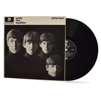 "THE BEATLES - ""With The Beatles"" vinyl record"