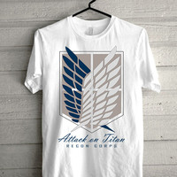 attack on titan Screen print Funny shirt for t shirt mens and t shirt girl size s, m, l, xl, xxl