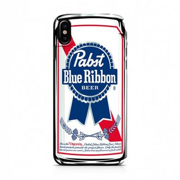 Pabst Blue Ribbon iPhone X Case