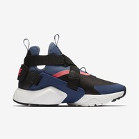 HCXX WMNS NIKE AIR HUARACHE CITY - BLACK/DIFFUSED BLUE/RACER PINK/NAVY