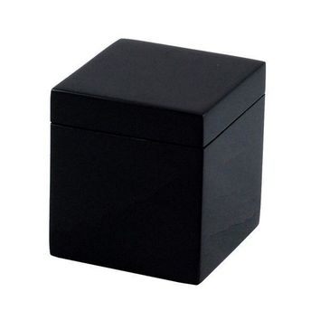 Black Lacquer Bathroom Accessories
