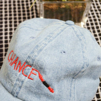 Chance the Rapper Dad hat - Magnificent Coloring World tour hat - Normcore Tumblr Aesthetic