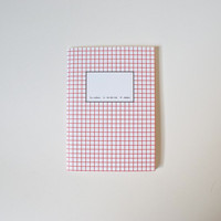 O-Check Design Grid Pocket Cahier