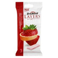 Trident Layers™ Sugar Free Gum - Wild Strawberry and Tangy Citrus (42 Pieces)