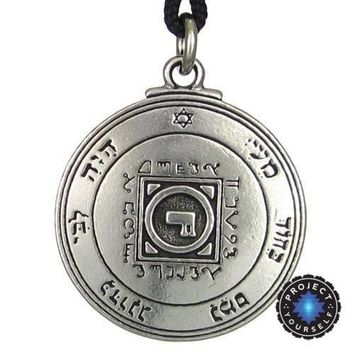 Ultimate Love Talisman Key of Solomon: Fourth and Fifth Pentacle of Venus Pendant Necklace
