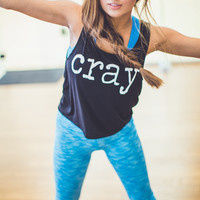 WEB EXCLUSIVE: Cray Graphic Gym Tank