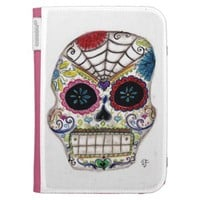 Sugar Skull Kindle 3 Cover