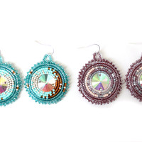 Radiance Earrings, medium