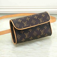 LV LOUIS VUITTON  Classic Messenger Bag Monogram Coffee Bag
