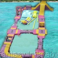 gaint inflatable water park - Product Picture From Guangzhou Langlun Decoration Material Co., Ltd.