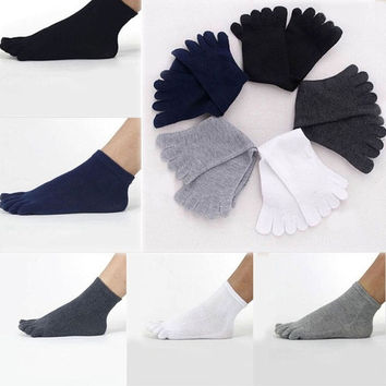 Unisex Men Women Socks Sports Ideal For Five 5 Finger Toe Shoes Sale = 1945882948