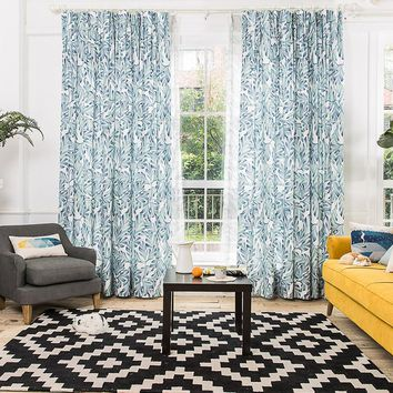 Drapes with Spring Willow
