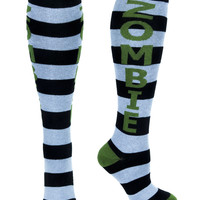 Walking Dead Zombie Athletic Knee Socks Alternative Gift Clothing