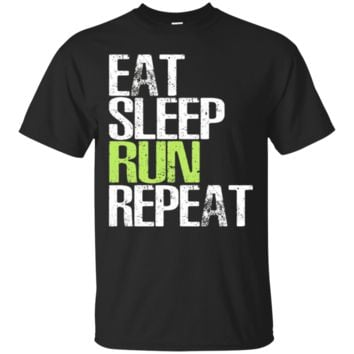 Eat Sleep Run Repeat TShirt Hoodie Cool Gift For Runners TShirt Hoodie