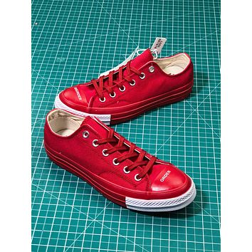 Undercover X Converse Chuck Taylor 1970s Red Low Fashion Shoes