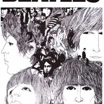 The Beatles Revolver Out Now Poster 11x17