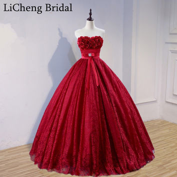 Sexy floral appliques lace prom dress long with bow sweetheart off shoulder prom Gowns robe de soiree Long Prom Dresses 2017