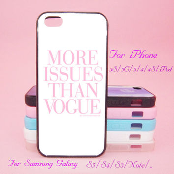 More issues than vogue,Touch 5,iPad 2/3/4,iPad mini,iPad Air,iPhone 5s/ 5c / 5 /4S/4 , Galaxy S3/S4/S5/S3 mini/S4 mini/S4 active/Note