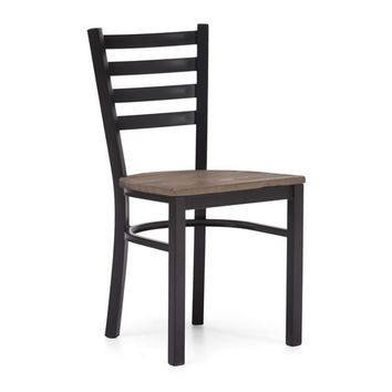 Zuo Glen Park Dining Chair Distressed Natural 98154