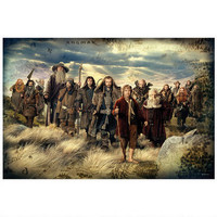 The Hobbit: An Unexpected Journey Cast Poster |