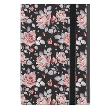 Vintage Pink Floral Pattern iPad Mini Case