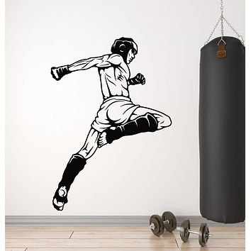 Vinyl Wall Decal MMA Battle Of Warriors Mixed Martial Arts Fight Club Stickers Mural (g1119)