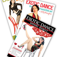 Exotic Dance Instruction & Fitness  3-DVD Set - Lady Morrighan