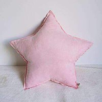 Star Heart Cloud Shape Throw Cushion Cotton Baby Plush Toys Decorative Sofa Pillow Baby Bedding