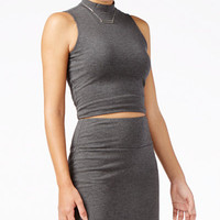 GUESS Maja Mock-Turtleneck Jersey Tank Top - Women - Macy's