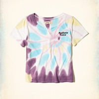 Girls Tie-Dye Baby T-Shirt | Girls Tops | HollisterCo.com