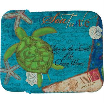 DCCKJY1 Sea Turtle Fabric Tablet Cover