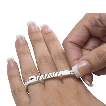 Adjustable Plastic Ring Sizer
