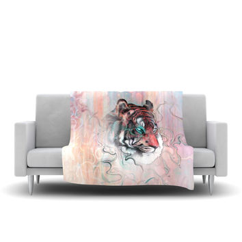 "Mat Miller ""Illusive by Nature"" Fleece Throw Blanket"