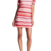 Modern American Designer | Cold Shoulder Striped Dress | Nordstrom Rack