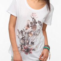 Urban Outfitters - Workshop Wolf Flower Tee