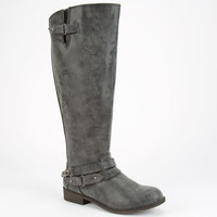 Madden Girl Canyon Womens Boots Black  In Sizes