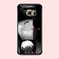 Tokyo Ghoul Quotes FOR SAMSUNG GALAXY S6 EDGE CASE **02