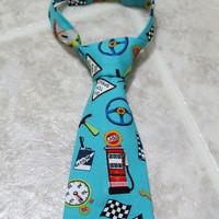 Boy neck Ties Various designs/sizes race car, green black, baseball, Dinosaur Birthday, Cake Smash . Church, Wedding Tie